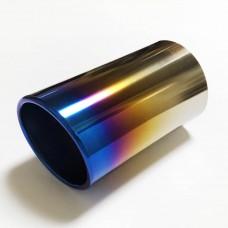 チタンテール 斜めカット ワンオフ製作用 外径 72mm 内径 70mm 穴なし 付属品無し  5700円(税込 6270円)