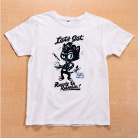 Shikon® Get Ready/Sam Cat Tシャツ 3,980円(税抜)