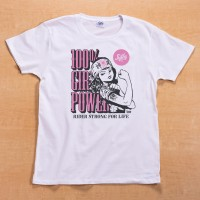 Shikon® 100% girl power/Kamikaze Tシャツ 3,980円(税抜)