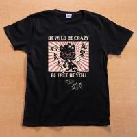 Shikon® Be Wild/野蛮・乱暴 T-shirt 3,980円(税込4,378円)