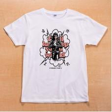 Shikon® Ninja girl/勇猛果敢 T-shirt 3,980円(税込4,378円)