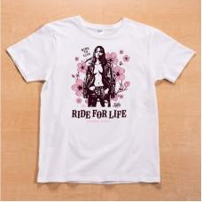 Shikon® Ride to live/Kana Tシャツ 3,980円(税抜)