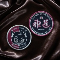 Shikon® Embroidered Patch D-SET Set of 2