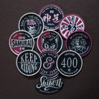 Shikon® Embroidered Patch 400B-SET Set of 10